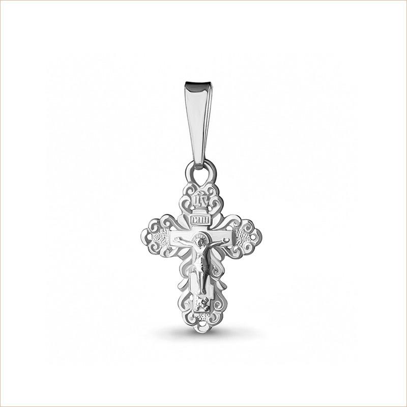 Крестик серебряный арт.11153