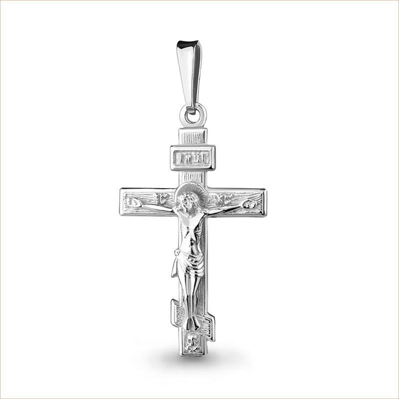 Крестик серебряный арт.11420