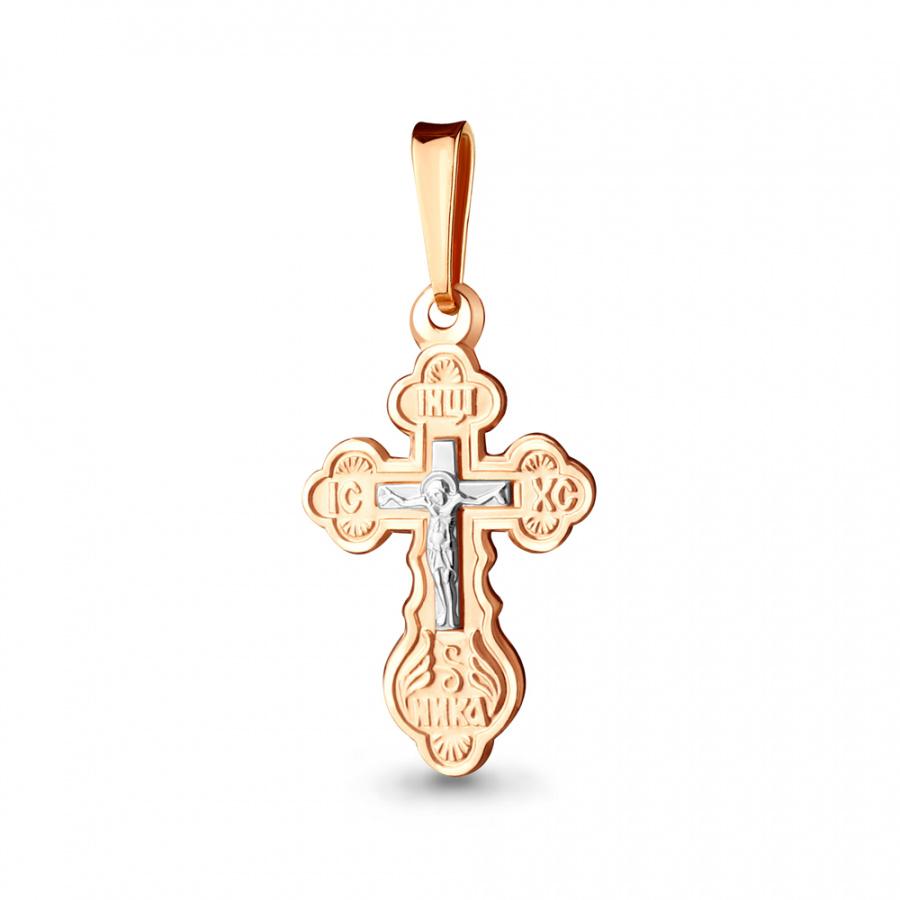 Золотой крестик арт.10334