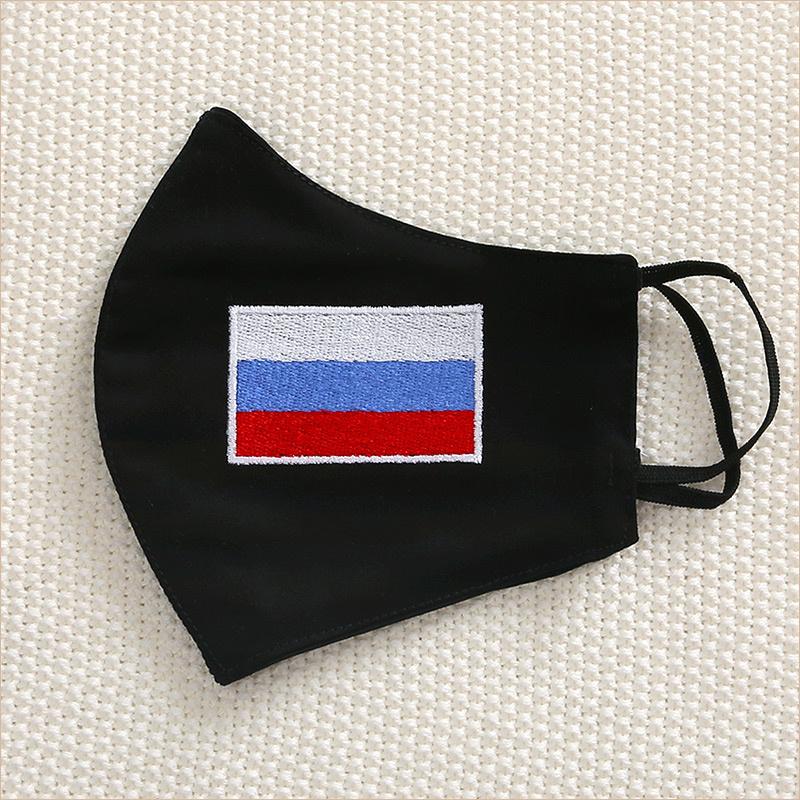 Тканевая маска с флагом России