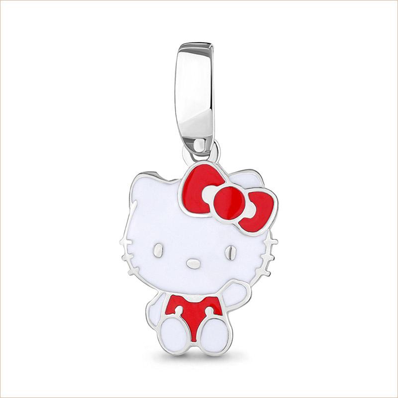 Серебряная подвеска Hello Kitty арт.15078