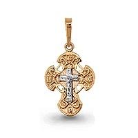 Золотой крестик арт.12022