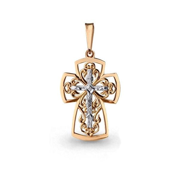 Золотой крестик арт.14613