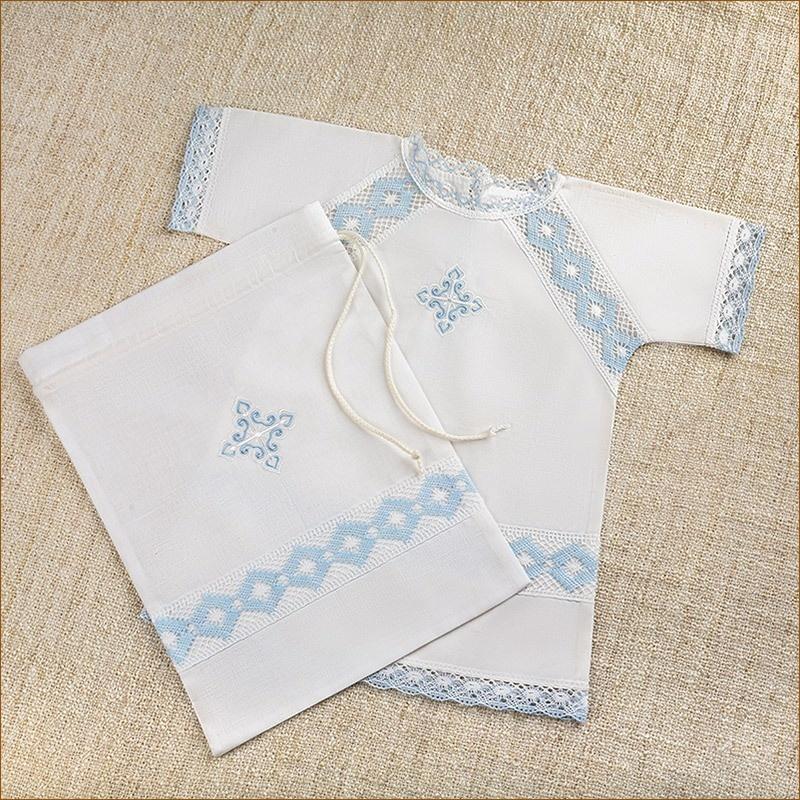 мешочек для хранения крестильной рубашки