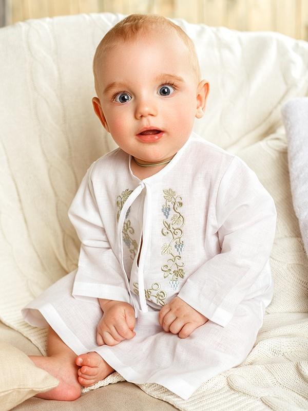 крестильная рубашка на 6 месяцев