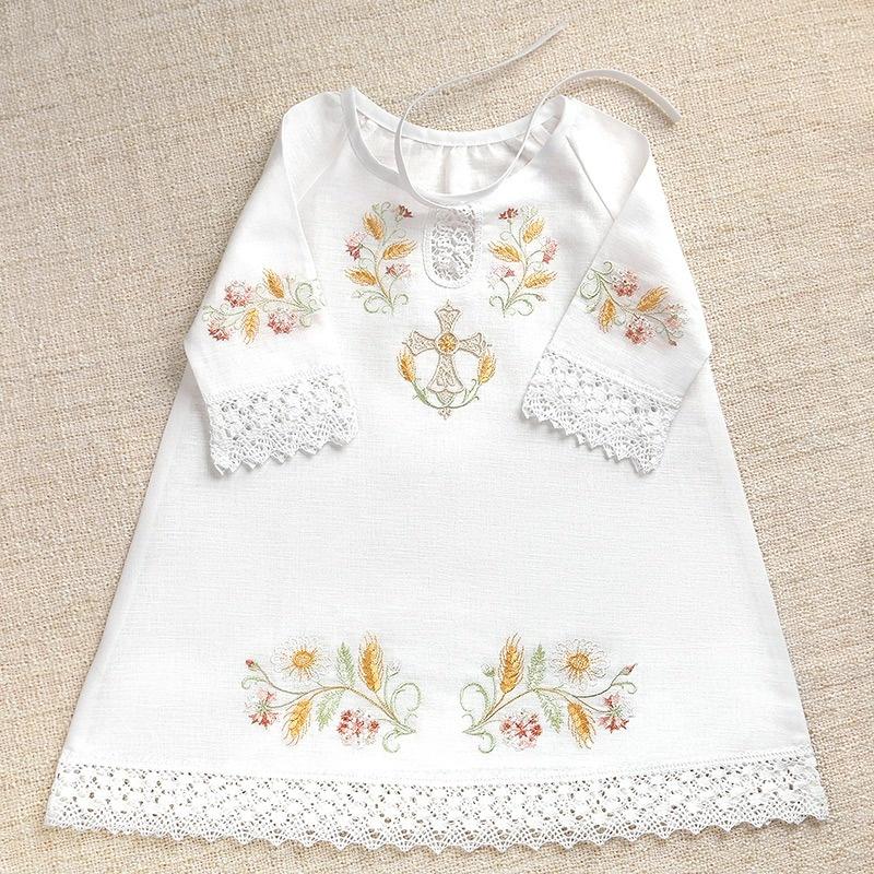 крестильная сорочка для девочки