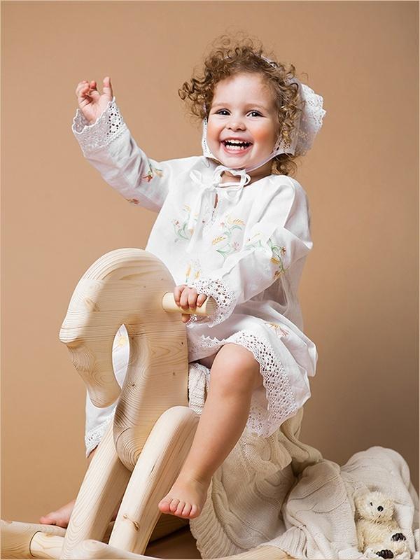 крестильное платье для девочки 3 года