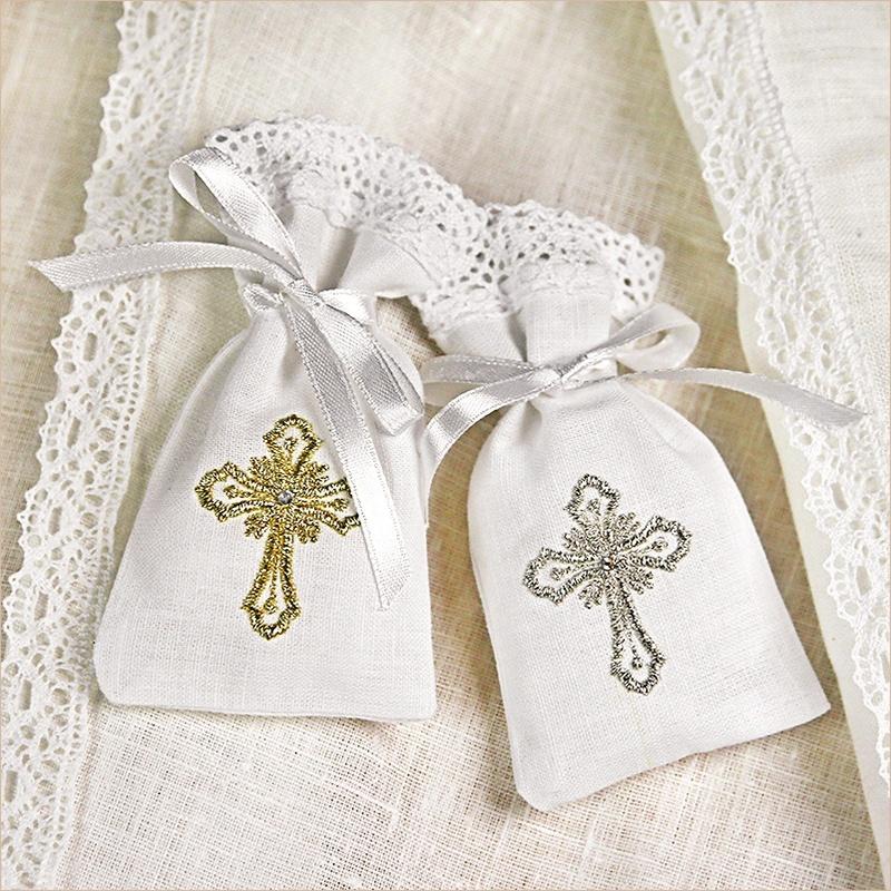 мешочек для крестика на крестины