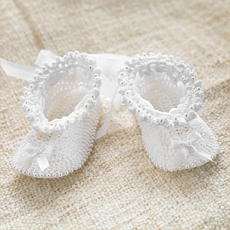 пинетки-туфельки связанные крючком