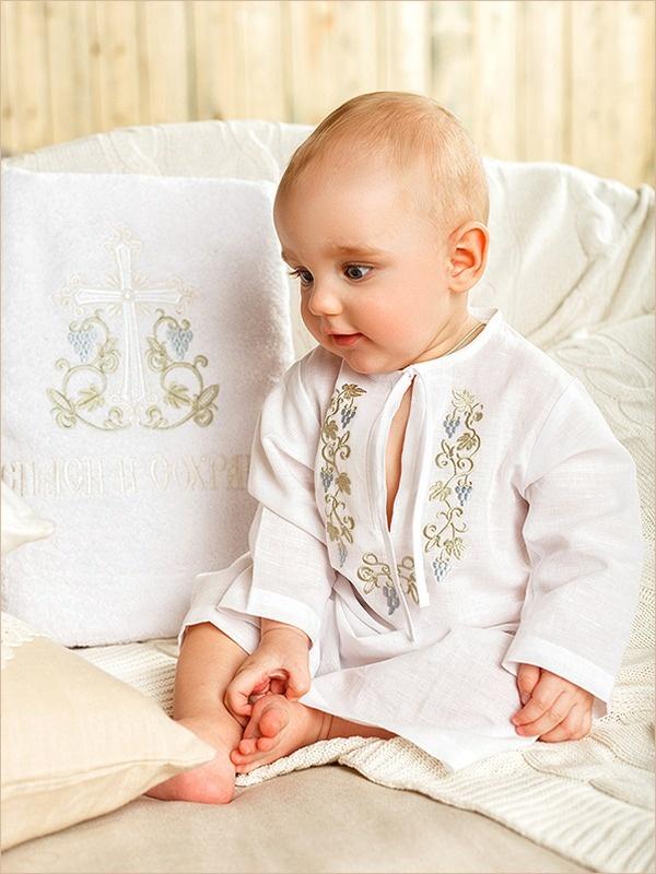 полотенце крестильное для мальчика