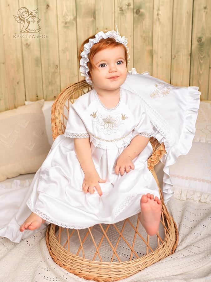 крыжма с капюшоном вместе с платье Елизавета