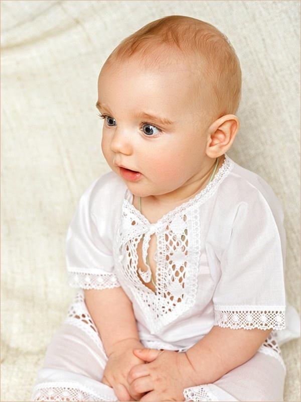 рубашка из комплекта на мальчике