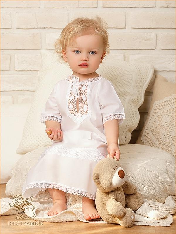 рубашка из комплекта на ребенке