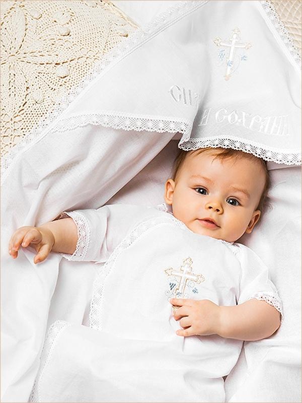 комплект для крещения мальчика