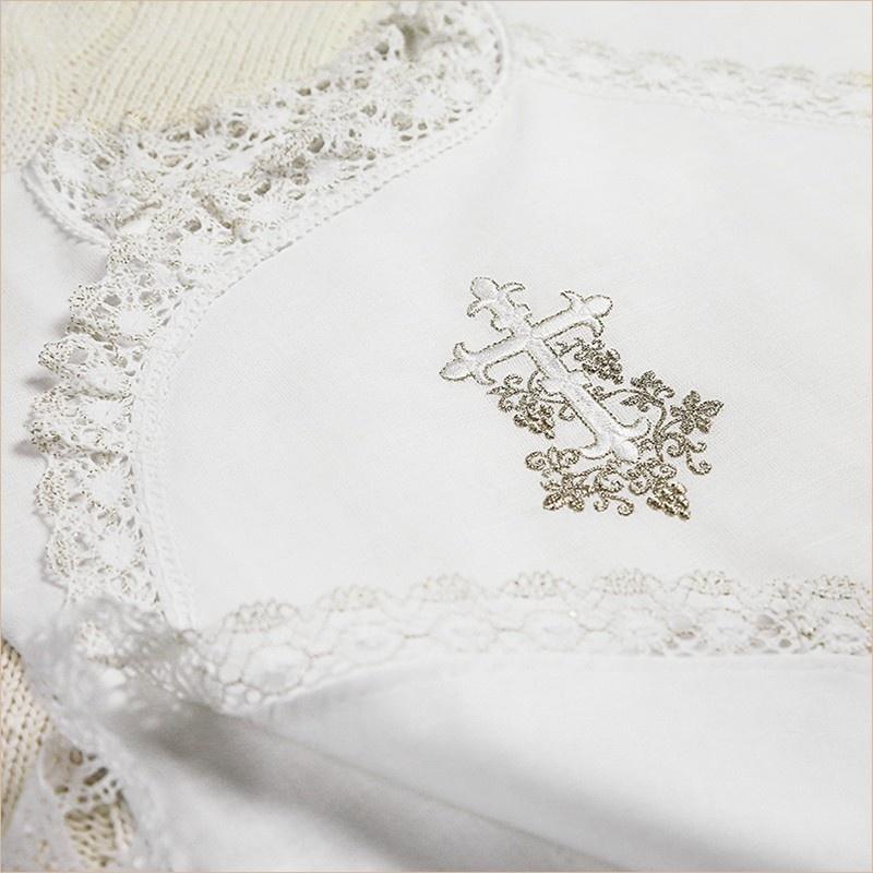 православная серебряная вышивка