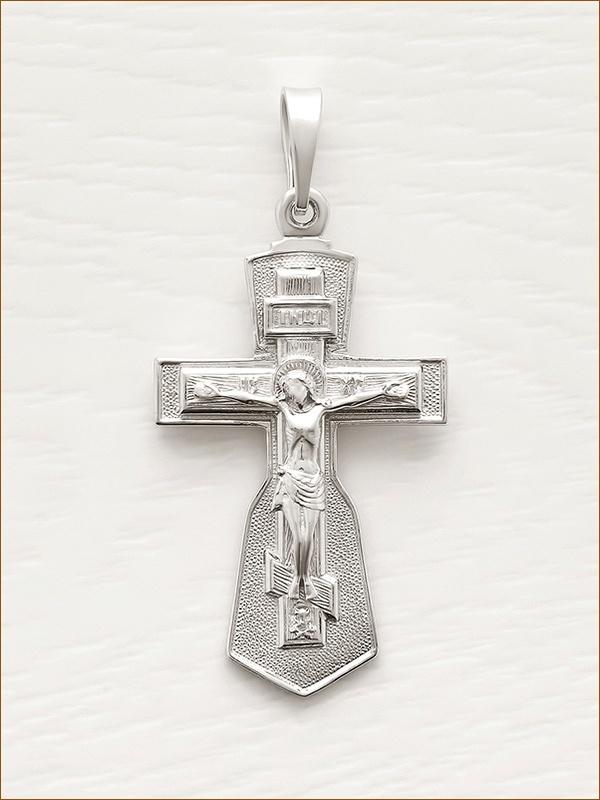 крестик серебряный арт.10801