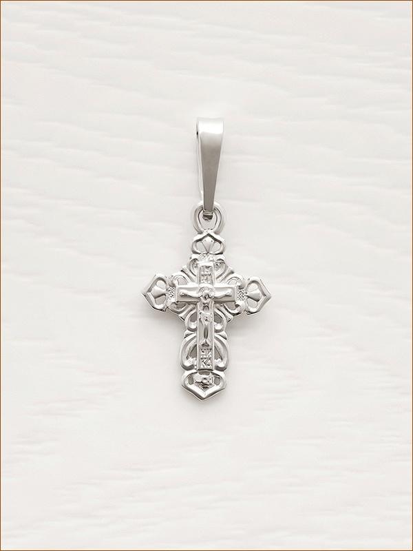крестик серебряный арт.11171