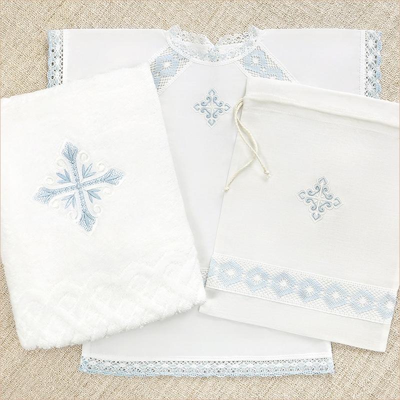 набор: полотенце 70х130 + рубашка + мешочек для хранения