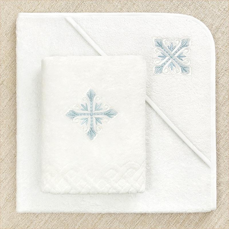 выбор полотенца в наборе - квадратное с капюшоном или прямоугольное