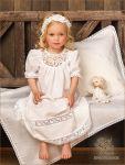 """Набор с пеленкой, модель """"Катерина2"""" для крещения девочки"""
