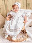 """Набор с пеленкой, модель """"Ксения"""" для крещения девочки"""